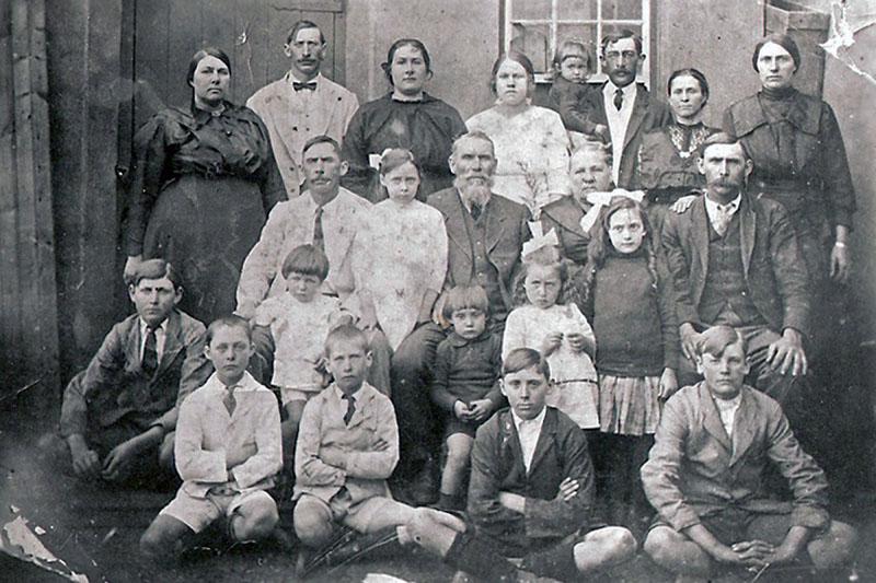 Leonard Familie (Circa. 1925)